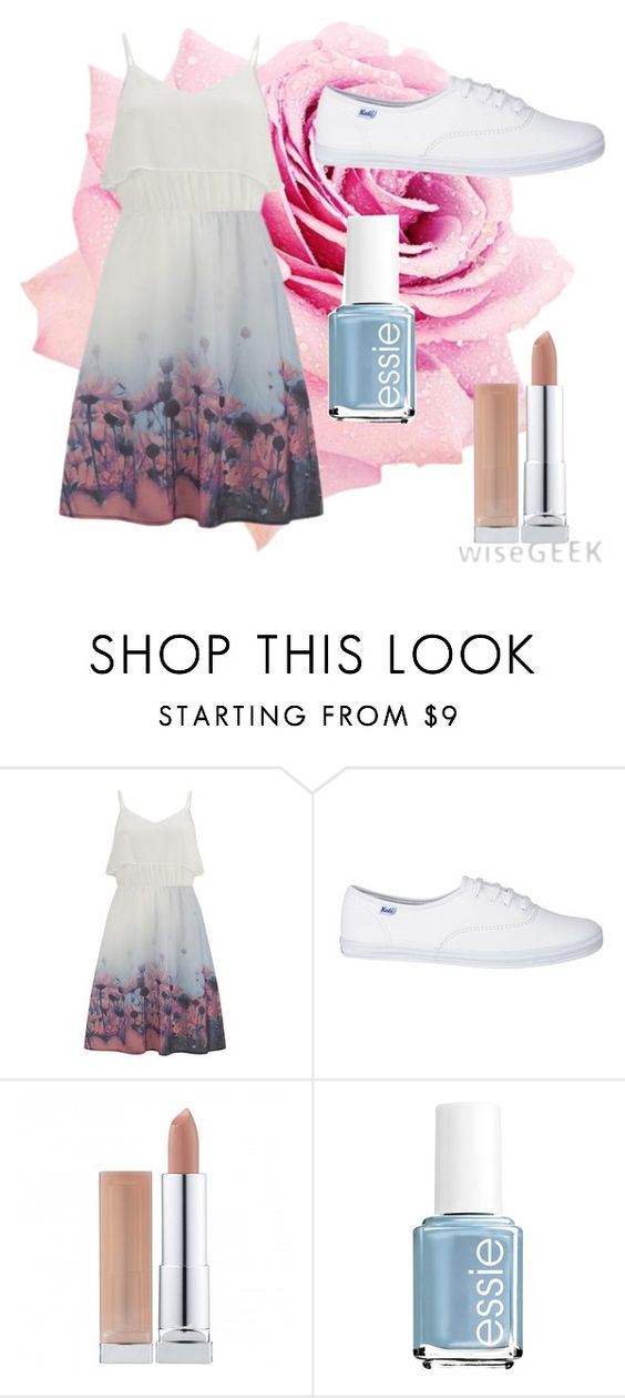 """""""Cute Outerwear"""" by vrddance ❤ liked on Polyvore featuring Vero Moda, Essie, women's clothing, women, female, woman, misses and juniors"""