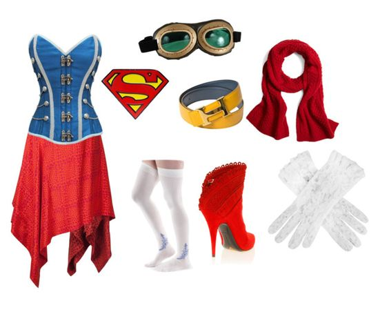 Steampunk Supergirl Cosplay Concept: