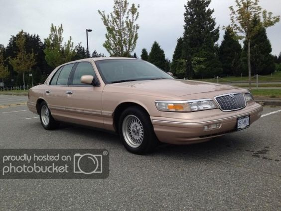 96 Grand Marquis Grand Marquis Grands Lincoln Town Car