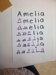 3 actividades para aprender a escribir el nombre propio