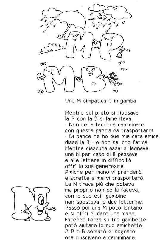 Testo della canzone mp mb ortografia primo ciclo for Mp mb scuola primaria