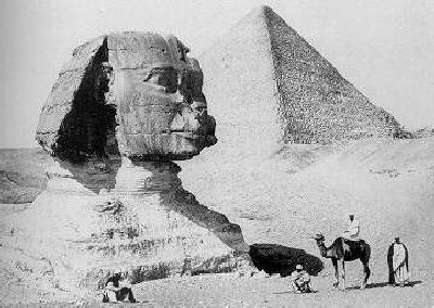 Old Photo of the Sphinx