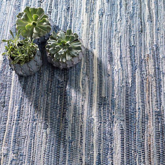 Fine Denim Rag Woven Cotton Rug Dash Albert Denim Rag Rugs Dash And Albert Cotton Rug