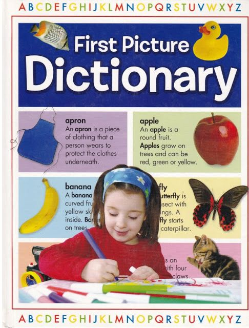 Scholastic First Picture Dictionary pdf | Picture dictionary
