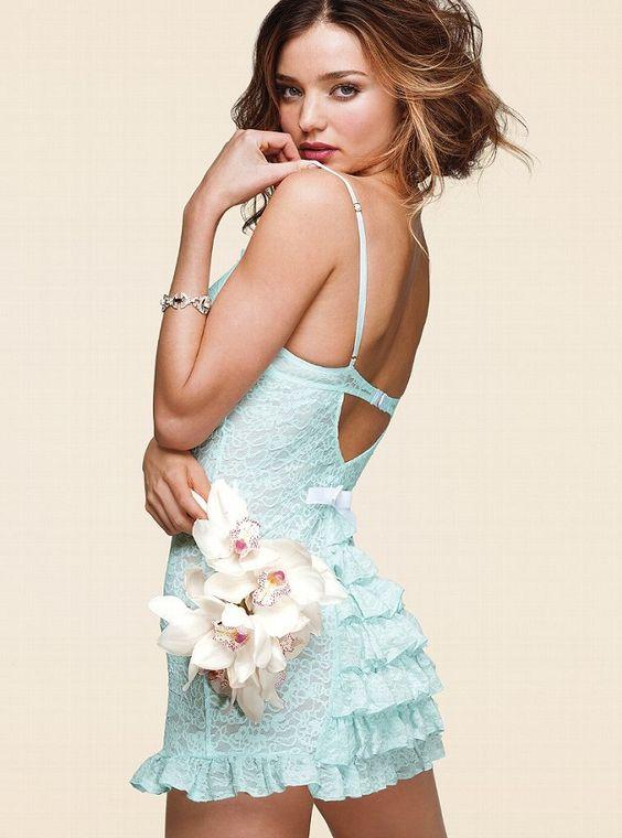 Miranda Kerr is a Sexy Bride for the Victorias Secret Bridal Lingerie Collection