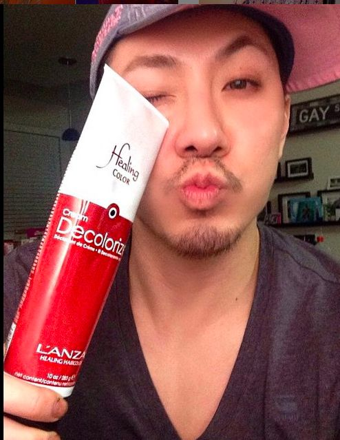 Guy tang loves his l 39 anza decolorizer l 39 anza healing for Guy tang salon