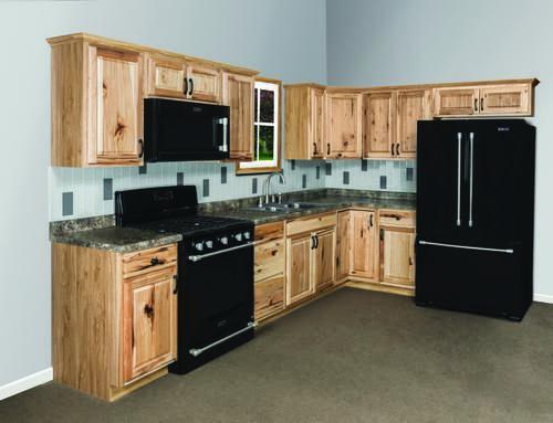 12 Small Kitchen Menards Kitchen Cabinets In 2021 Hickory Kitchen Cabinets Hickory Kitchen Kitchen Layout