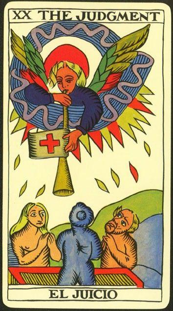El juicio en el Tarot
