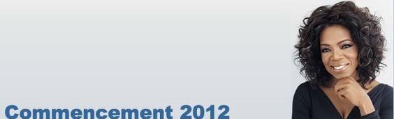 Oprah Winfrey to Deliver Commencement Address to Spelman College's Class of 2012: http://www.spelman.edu/_ezpost/data/pr_commencement_oprahwinfrey.shtml