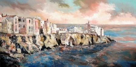 Dipinti Del Salento Olio su tela spatolato