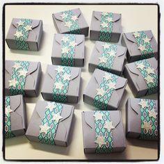 Envelope Punch Board - kleine Boxen / Goodies