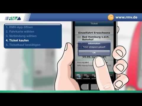 """Rhein-Main Verkehrsverbund Film zur Erläuterung der """"Mobilen Services"""" #Smartphone #NFC #Handyticket #Mobile"""
