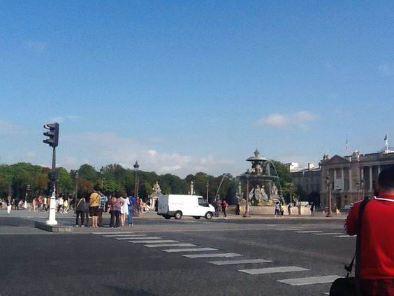Plaza de la Concorde. Avenida Des Champs Elysees