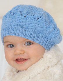 vaaleansininen baretti