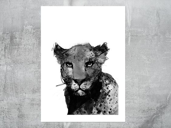 cat balthazar print via peytil. Click on the image to see more!