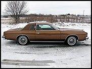 1977 Chrysler Cordoba  $9,500