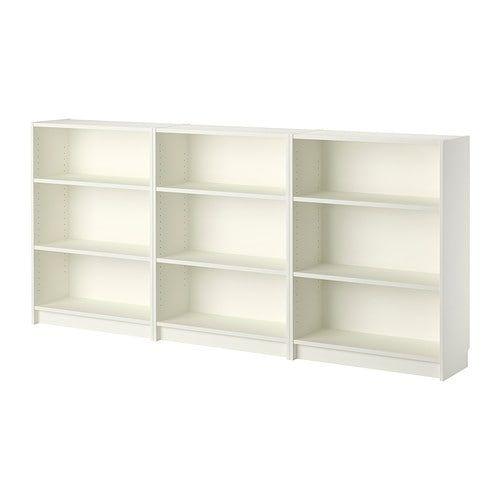 Billy White Bookcase 240x28x106 Cm Ikea Ikea Billy Bookcase White Ikea Billy Bookcase White Bookcase