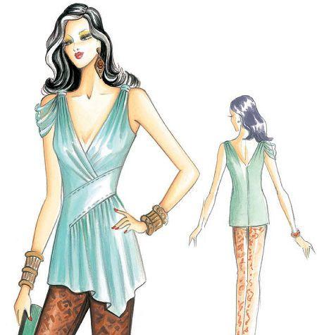 Fashion sewing pattern Marfy F3130: