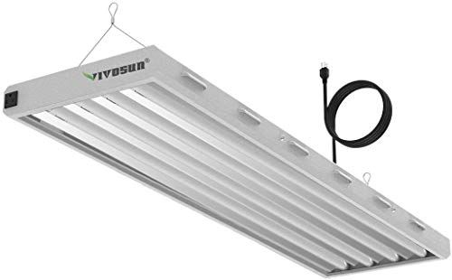 New Vivosun 6500k 4ft T5 Ho Fluorescent Grow Light Fixture Indoor Plants Ul Listed High Output Fluorescent Tubes 4 Lamps Online In 2020 Grow Light Fixture Indoor Plants Indoor Lighting Fixtures