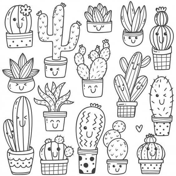 10 Best Coloring Pages For You Cute Doodle Art Easy Doodles Drawings Kawaii Doodles