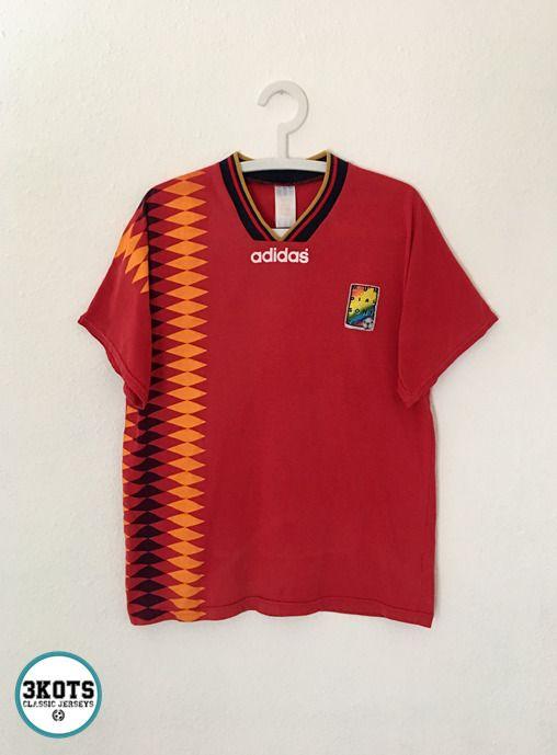 1994 ADIDAS GERMANY Home Retro Vintage Soccer Jersey | eBay