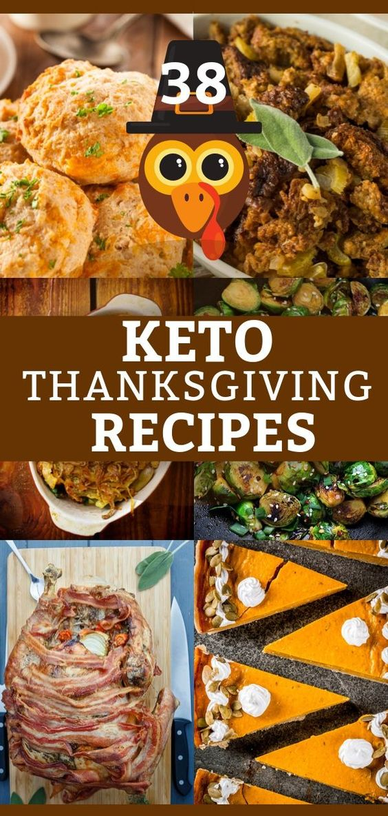 38 Keto Thanksgiving Recipes! Low Carb Thanksgiving Menu