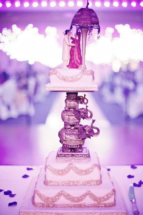 Sikh indian wedding cake