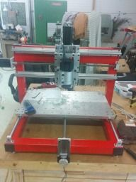 Steel Frame CNC Router