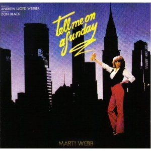 Marti Webb - Tell Me On A Sunday CD - Click picture for details