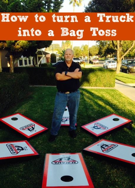 Check out how Bob Hurley is using scraps from trucks to make bag toss game sets | My U-Haul Story