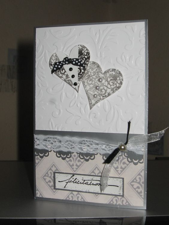 scrap carte mariage pinterest