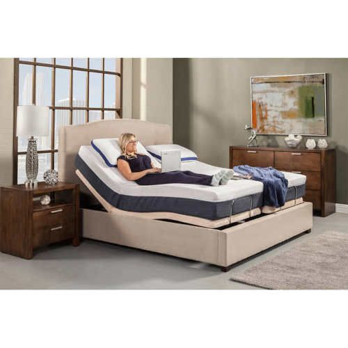 Reverie 5d Adjustable Bed Base Split Queen In Home White Glove