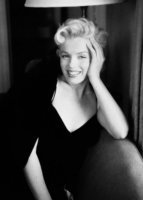 """"""" Marilyn Monroe photographed by Jacques Lowe, 1956. """" …"""