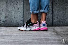 Adidas Women's Falcon Core Black/Light Granite - BB9173 ...