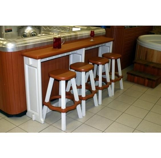 Bar Tables Home And Hot Tub Bar On Pinterest