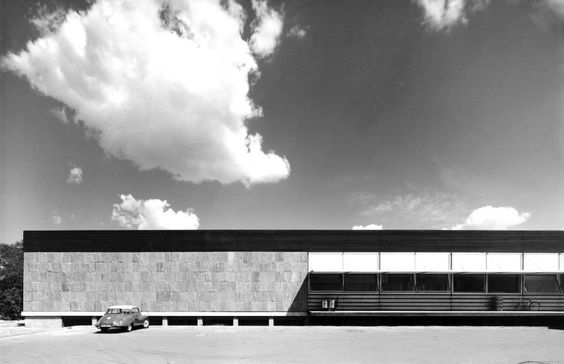 Central Canteen - Braunschweig, DE -Walter Henn - 1950s