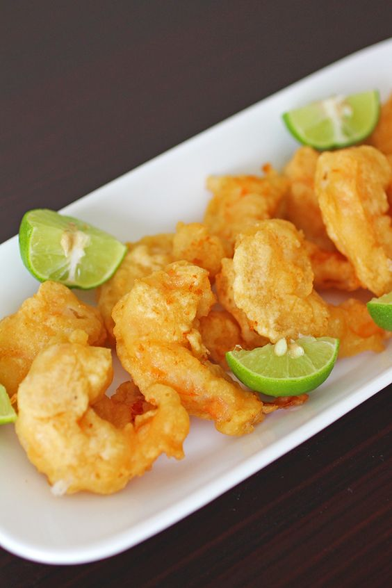 Simply delicious and easy to make Tempura Shrimp, batter only takes 4 ingredients, it doesn't get any better!