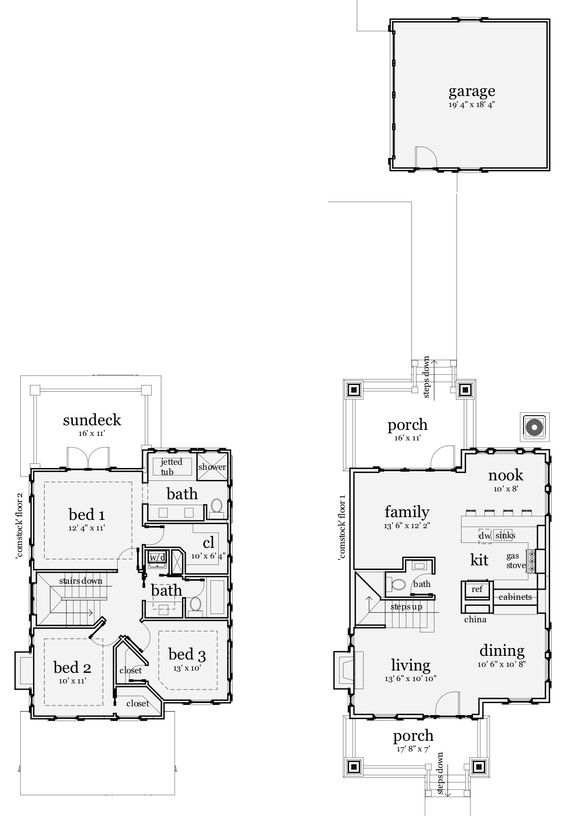 House plans china display and beach house plans on pinterest for Chinese house plans
