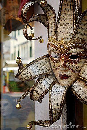 Carnival mask, Venice © Crisferra: