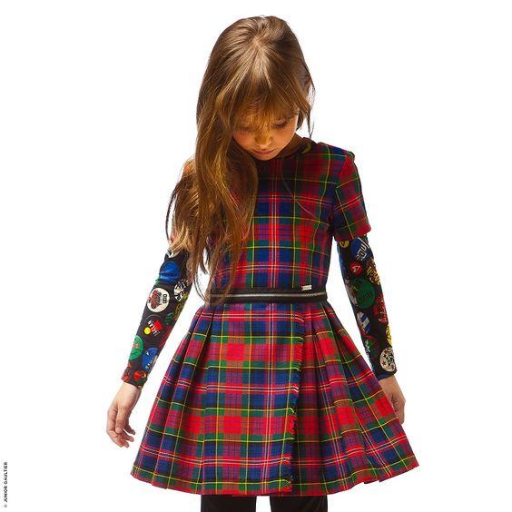 Robe Fille Melijoe, achat Robe imprimée Junior Gaultier prix promo ...