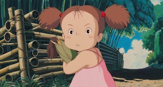 となりのトトロのメイは4歳