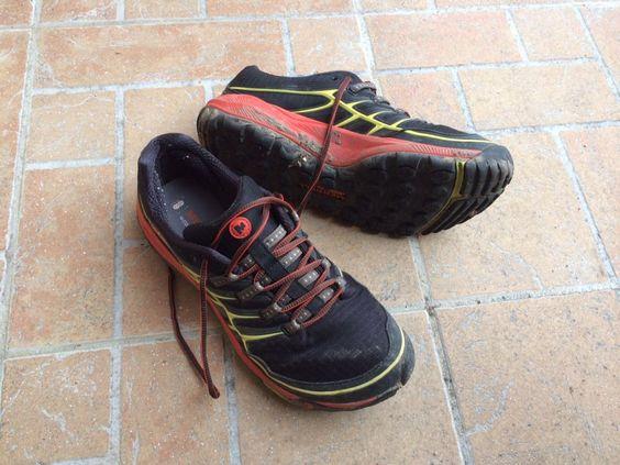 Merrell All out Rush : chaussures de trail très agréable : le test sur carnets-nordiques !