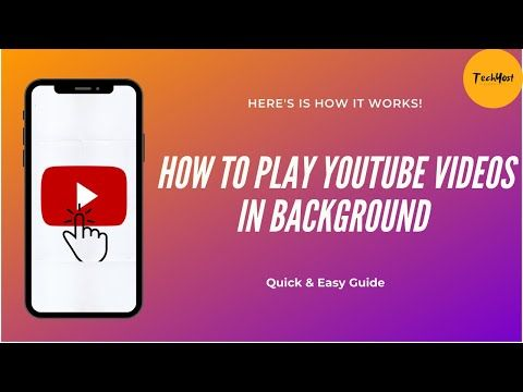 How To Play Youtube In Background On Android Ios Devices Listen Youtube Videos Without Any App Youtube Youtube Any App App