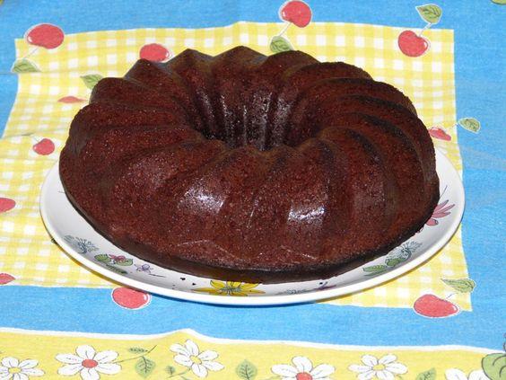 BUNDT CAKE DE CHOCOLATE y buttermilk