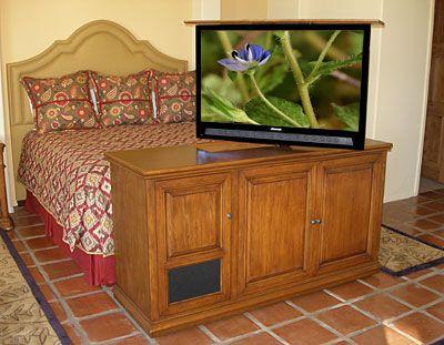 Pinterest the world s catalog of ideas for Tv in furniture hidden
