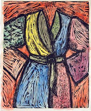 Jim Dine's bathrobe