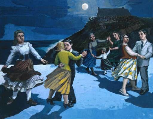 A Dança - A cumplicidade presente, o luar, as expressões  nas faces de cada personagem mostram que quando estamos entre aqueles que amamos a felicidade chegará em várias formas e uma delas é em forma de dança.