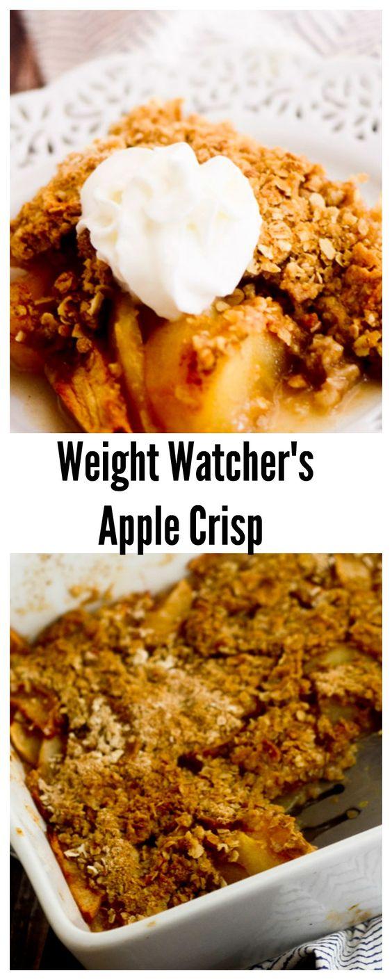 Weight Watcher's Apple Crisp Recipe Pinterest Apple
