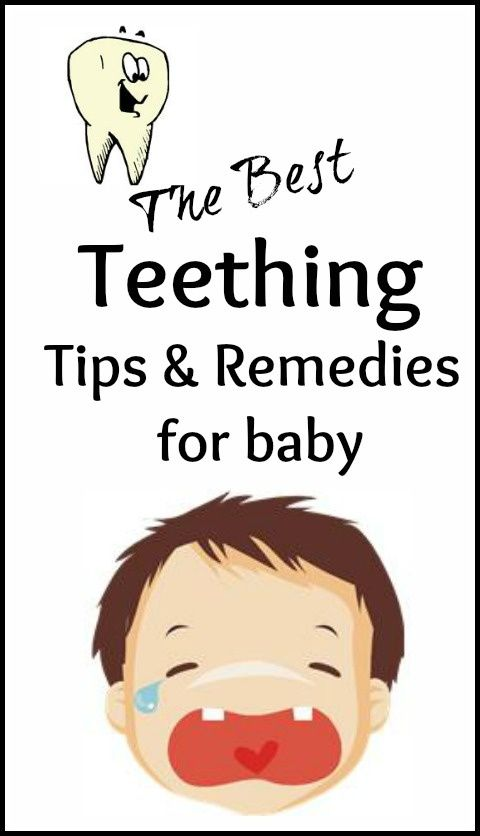 Tips Teething And Remedies On Pinterest