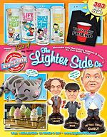 The Lighter Side The Lighter Side is a unique collection of memorable gifts that delight, entertain and amuse for your entire family! sofltappetizer.tk
